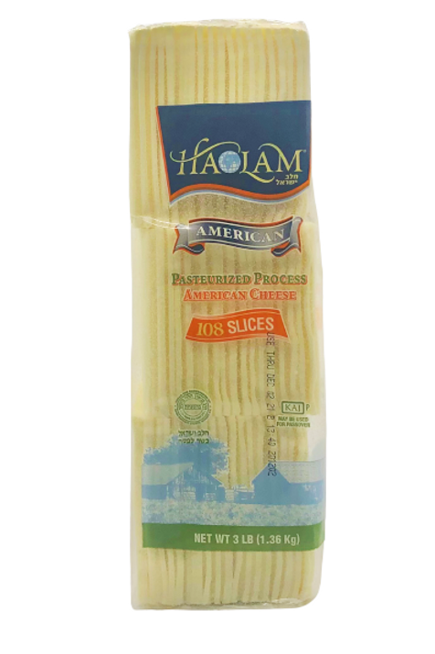 Haolam American Cheese White 108 Slices