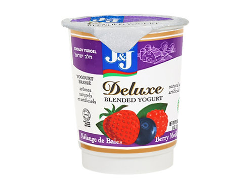 J&J  Better Berry  Deluxe Yogurt 6oz