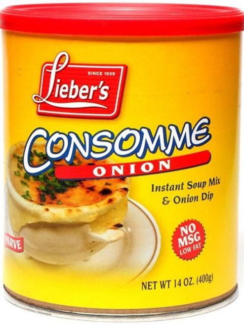 Lieber's Onion Soup Mix(No MSG) 14 oz.