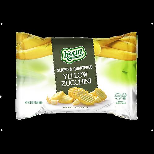 B'gan Yellow Zucchini 24oz