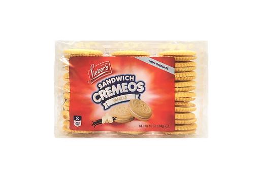Lieber's Cremeos Vanilla Cookies 10 oz.