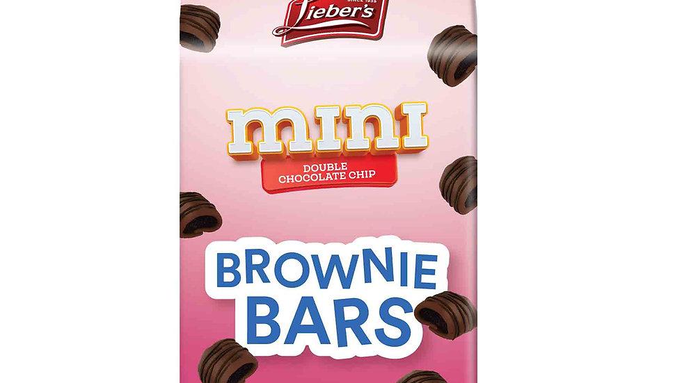 Lieber's Double Choc. Chip Mini Brownie Bars 6.5 oz.
