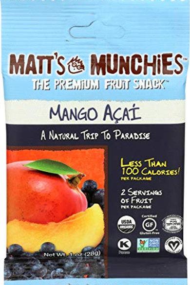 Matt's Munchies Mango Acai 1oz