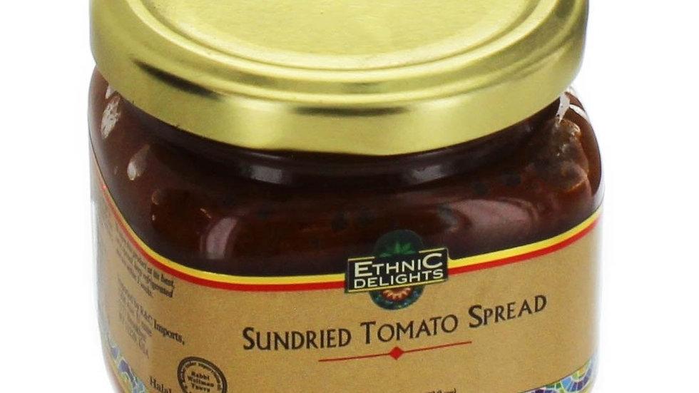 Ethnic Delights Sun Dried Tomato Spread Kitniot 6.7 Oz