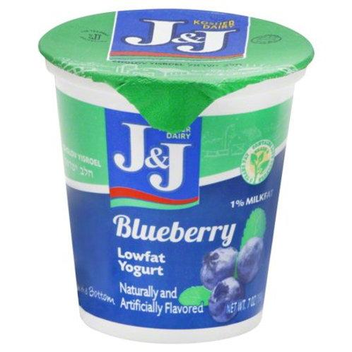 J&J  Blueberry  Yogurt 7oz