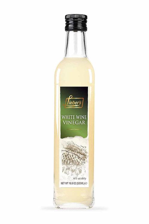 Lieber's White Wine Vinegar 16.9 oz.