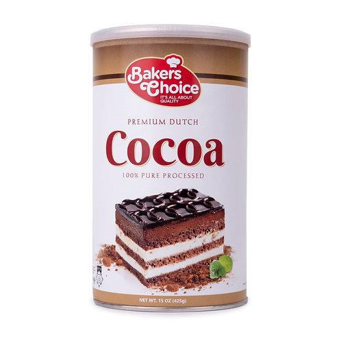 Baker's Choice Cocoa Premium 15oz