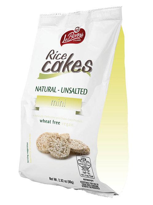 LaBonne Bite Size Unsalted Rice Cakes 80 gr.