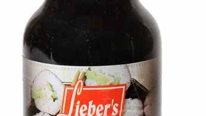 Lieber's Soy sauce Lite (Imitation) 10  oz.