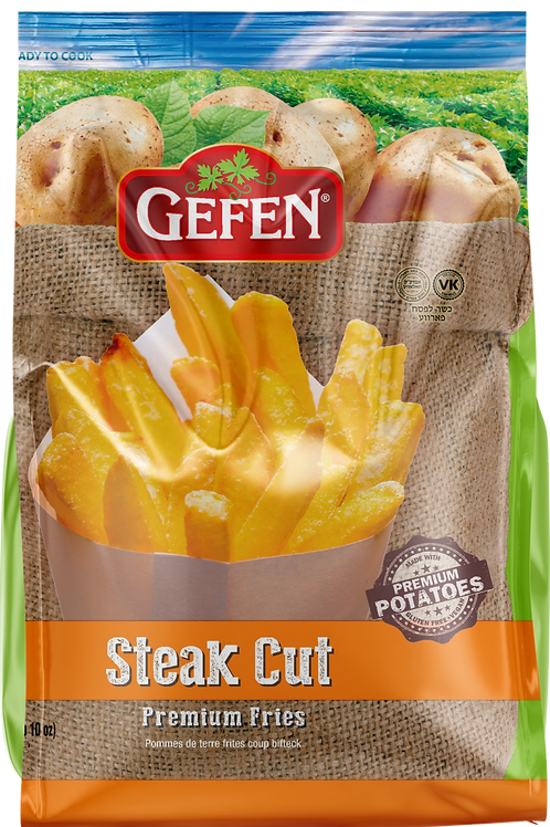 Gefen White Potato Fries Steak Cut 26oz