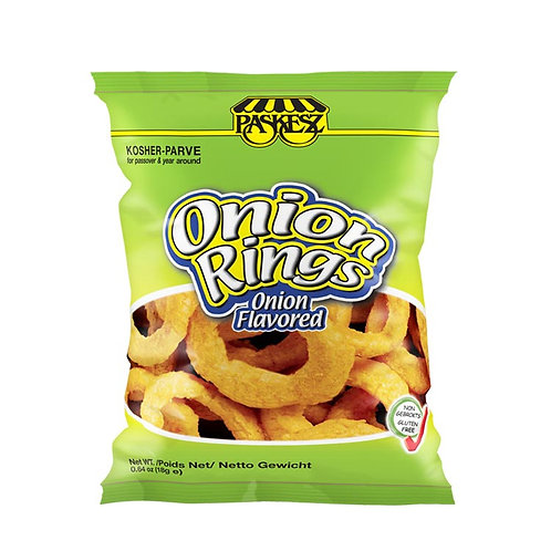 Paskesz Onion Rings 0.64oz