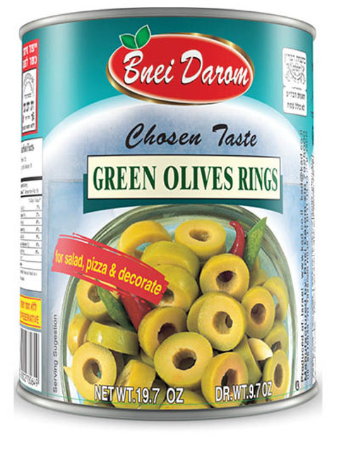 Bnei Darom Olive Rings (Green) 19.7 oz.