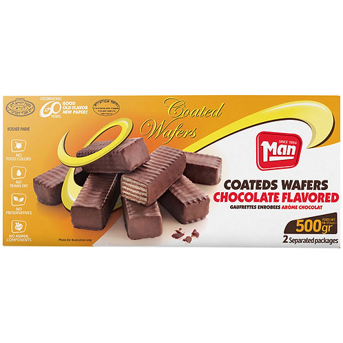 Man Coated Wafers 17.5oz