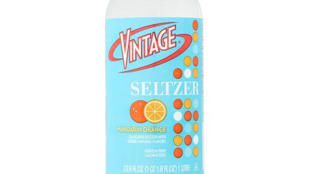 Vintage Mandarin Orange Seltzer  1 L