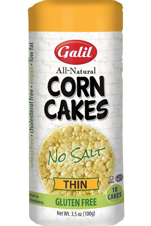 Galil Thin Corn Cakes No-Salt 3.5 oz
