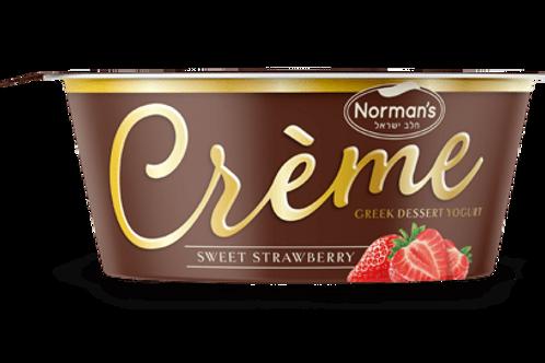 Norman's Crème Sweet Strawberry 4.5 oz