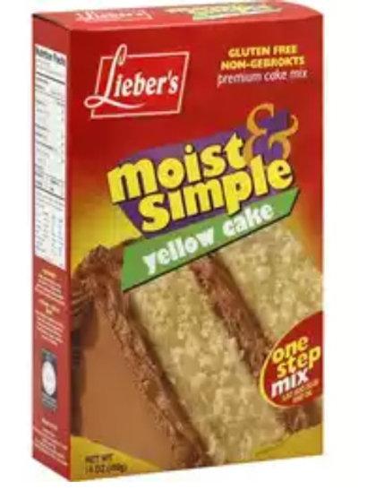 Lieber's Yellow Cake Mix 14 oz.