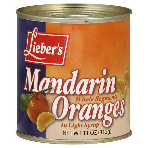 Lieber's Mandarin Orange (Whole) 11oz.