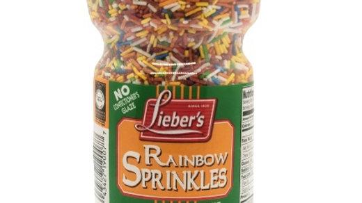 Lieber's Rainbow Sprinkles 10 oz.