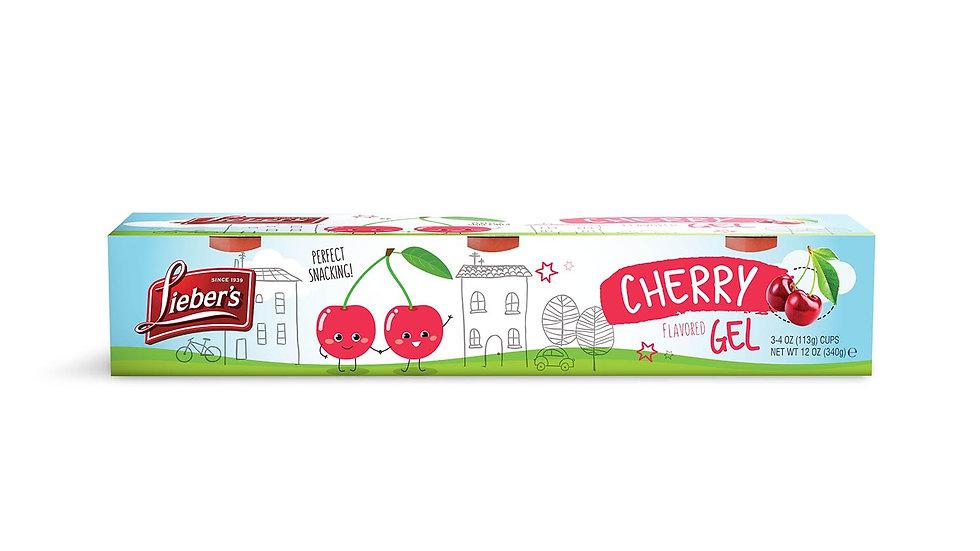 Lieber's Cherry Jel Cups 2 - 4 oz