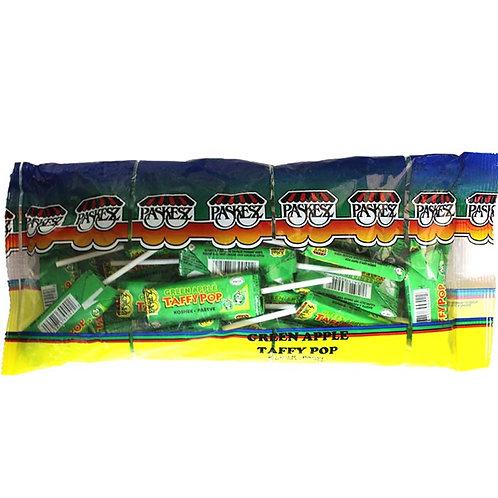 Paskesz Taffy Pop Green Apple 10.5oz