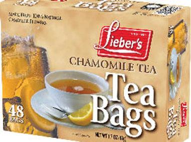 Lieber's Chamomile Tea Bags 24 ct