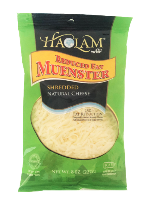 Haolam Muenster RF Shredded 8oz