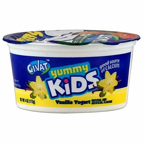 Givat  Vanilla  Yummy Kids 4 oz.