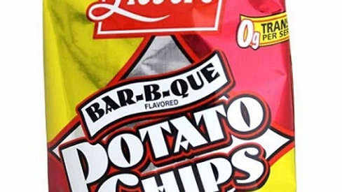 Lieber's Barbecued Potato Chips .75 oz.