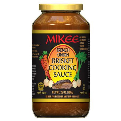 Mikee French Onion Brisket Sauce 25 Oz