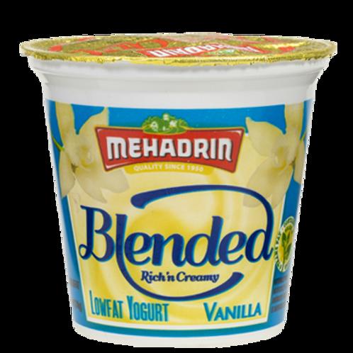 Mehadrin  Vanilla  Blended lowfat Yogurt 6oz
