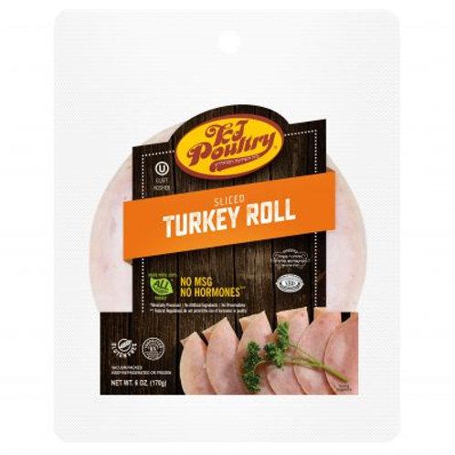 KJ Sliced Turkey Roll 6oz