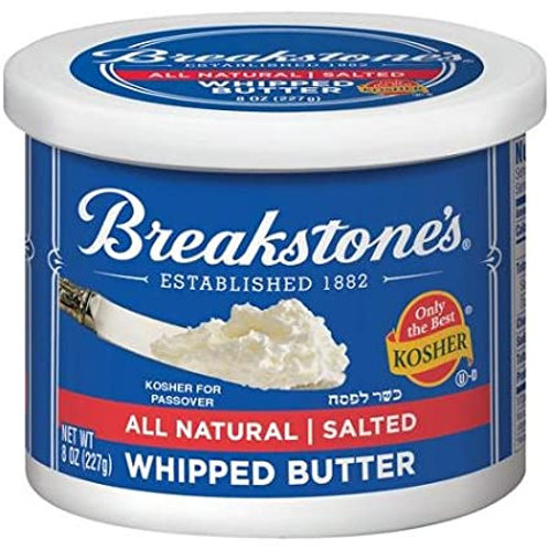 Breakstone Whipped Butter Salted 8oz