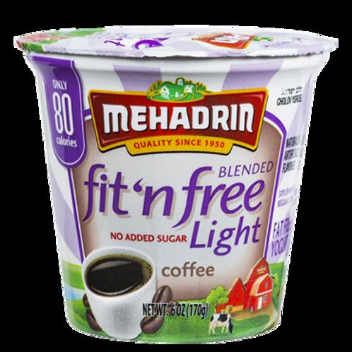 Mehadrin  Coffee  Fit 'n' Free Yogurt 6oz