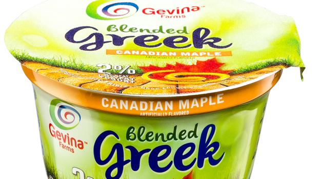 Gevina  Canadian Maple  Greek Yogurt 2% Blended 5.3oz