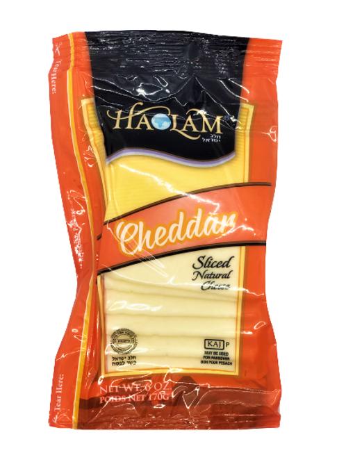 Haolam Cheddar White Sliced  6oz