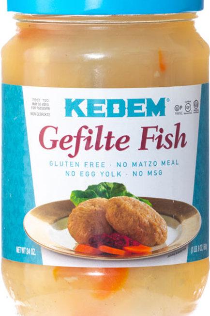 Kedem Passover Gefilte Fish #730 24oz