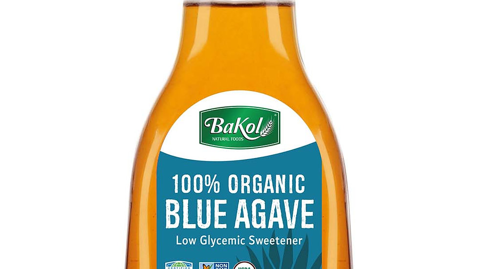 Bakol ORGANIC BLUE AGAVE SYRUP 23.28 OZ.