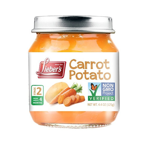 Lieber's Carrot Potato 4.6 oz.