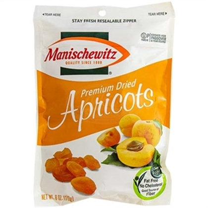 Manichewitz Premium Dried Apricots 6oz
