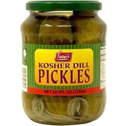 Lieber's Dill Pickles 24.3 oz.