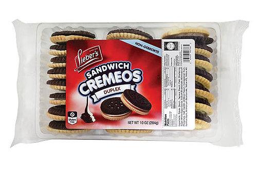 Lieber's Cremeos Duplex Cookies 10 oz.