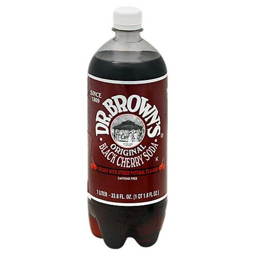 Dr Brown Black Cherry Soda 2L