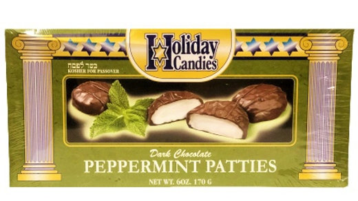 Holiday Peppermint Patties Parve 6 Oz