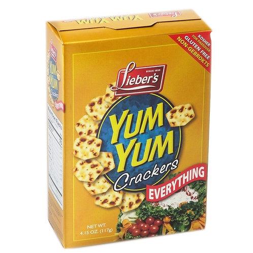Lieber's Yum Yum Crackers(Everything) 4.15 oz.