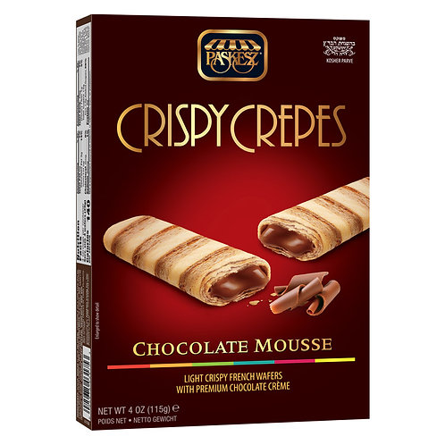 Paskesz Crispy Crepes Mousse Parve 4oz