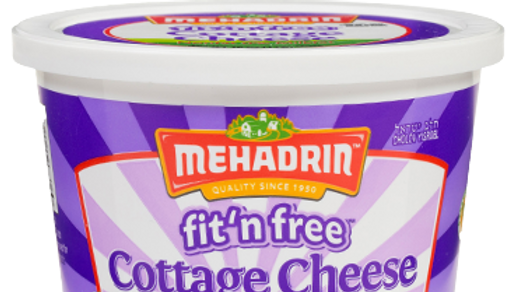 Mehadrin  Fit n' Free Cottage Cheese N/F  16oz