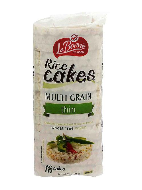 LaBonne Thin Rice Cakes Multi Grain 3.1 oz.