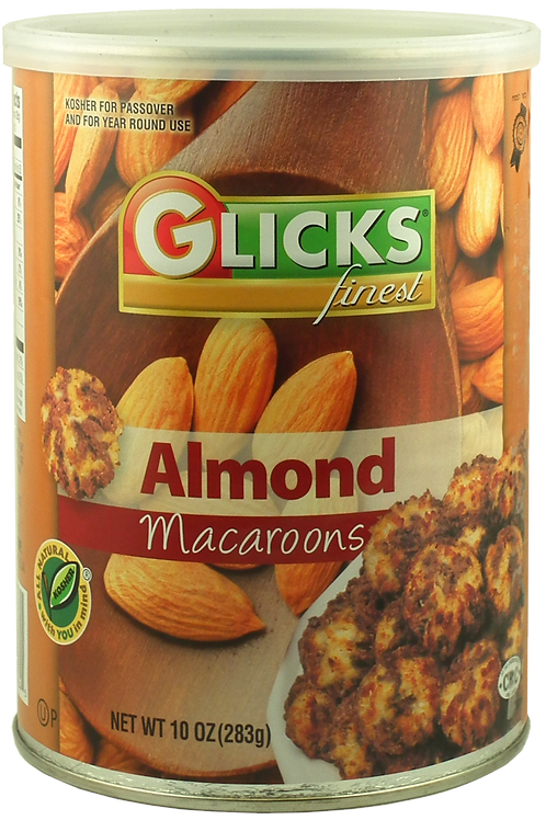 Glicks Almond Macaroons 10oz