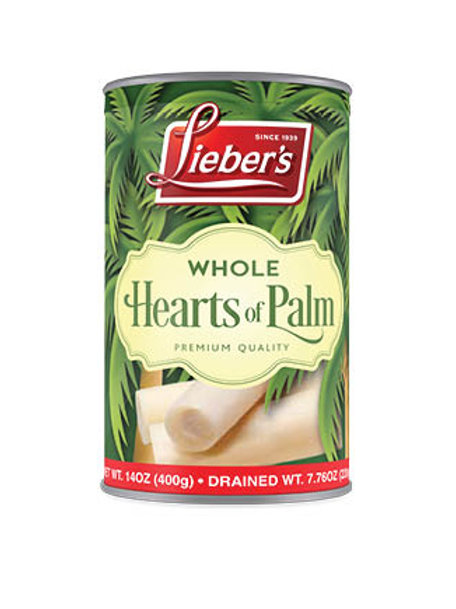 Lieber's Whole Hearts of Palms 14 oz.